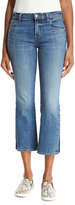 J Brand Jeans Selena Cropped Boot-Cut Jeans, Ascension