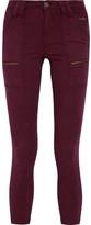 Joie Park Cotton-Blend Twill Skinny Pants