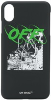 Off-White iPhone XS Max graphic print case