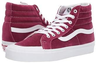 Vans Sk8-Hi Reissue 138 ((Velvet) Beet Red/True White) Athletic Shoes
