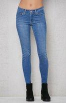 Levi's Far Out Indigo 711 Skinny Jeans