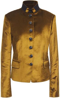 Rag & Bone Cotton-blend Velvet Jacket