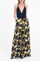 Martin Grant Wide Printed Trousers