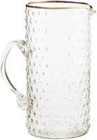 H&M Textured Glass Pitcher