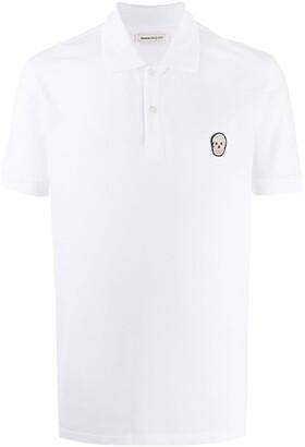 Alexander McQueen Skull-Motif Polo Shirt
