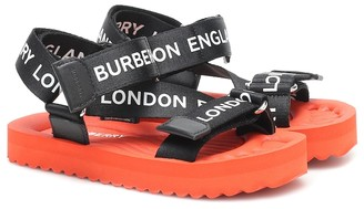 BURBERRY KIDS Logo sandals
