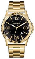 Caravelle New York Analog New York Goldtone Bracelet Watch