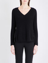 French Connection Mozart floral-lace knitted jumper