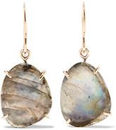 Melissa Joy Manning 14-karat Gold And Sterling Silver Labradorite Earrings