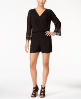 Thalia Sodi Lace-Detail Romper, Only at Macy's