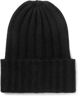 The Elder Statesman - Ribbed Cashmere Beanie