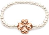 Folli Follie Pearl Muse rose gold-plated bracelet