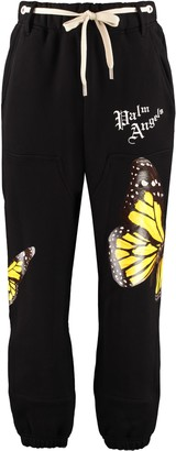 Palm Angels Stretch Cotton Track-pants