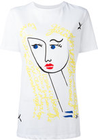 Iceberg Blond Girl T-shirt - women - Cotton - 38