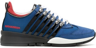 DSQUARED2 251 Striped Sneakers