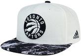 adidas Toronto Raptors White Marble Snapback Cap