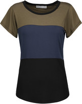 Kain Label Joyce color-block stretch-jersey T-shirt