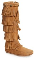 Minnetonka Women's '5 Layer Fringe' Boot