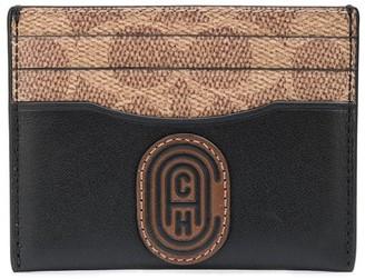 Coach Monogram Canvas Cardholder
