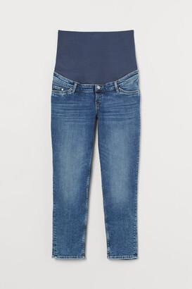 H&M MAMA Vintage Straight Jeans - Blue
