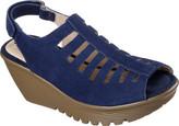 Skechers Women's Parallel Trapezoid Platform Wedge Sandal