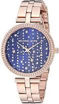 Michael Kors Women's Maci Quartz Watch with Stainless Steel Strap