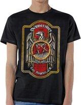 Global Slayer Eagle Schwarzbier Beer Crest Metal Rock Band Adult T-Shirt Tee