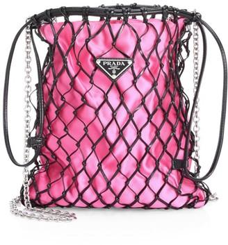 Prada Silk Net Bag