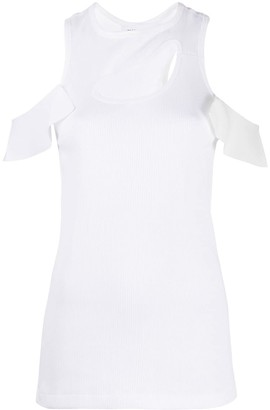 Toga Cut Out Knitted Top