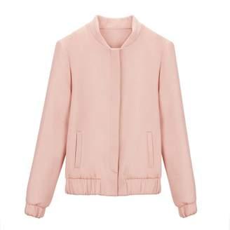 Wool Cashmere Bomber Jacket
