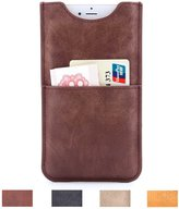 Card Case for iPhone 6 and iPhone 6S Executive Pouch Design Ultra Slim PU Leather Wallet Sleeve Case for 4.7 inch Phone XeYOU