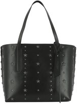 Jimmy Choo Women's Twisteastwestgrq Leather Tote