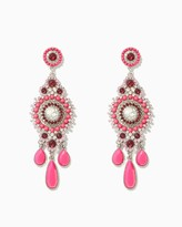 Charming charlie Aurora Stone Statement Earrings