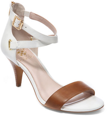 Vince Camuto Marlina Leather Strappy Open Toe Sandals