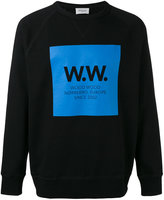 Wood Wood printed sweatshirt - men - Cotton - S