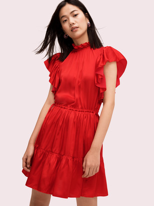 Kate Spade Tiered High Neck Dress