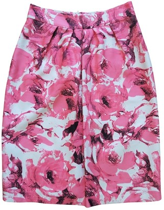 LK Bennett Pink Silk Skirt for Women