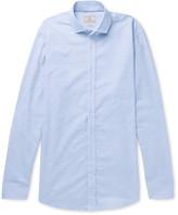 Hackett - Mélange Brushed-cotton Shirt