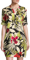 Tommy Bahama Victoria Blooms Floral-Print Linen Dress, Multi