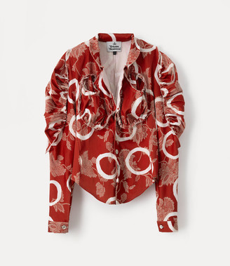 Vivienne Westwood Cocoon Shirt Pinocchio Print