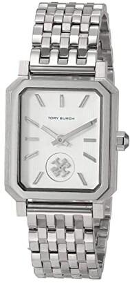 Tory Burch Robinson Bracelet Watch (Silver) Watches
