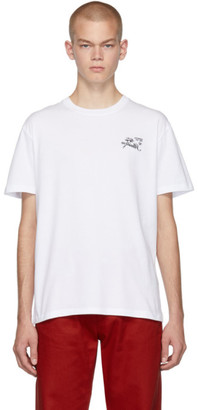 Raf Simons White Illusion Slim-Fit T-Shirt