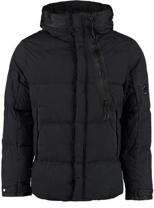 C.P. Company Padded Jacket With Zip And Snaps