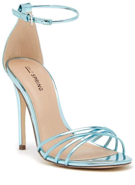 new product 3a4c5 95778 Fiwien Ankle Strap Heeled Sandal