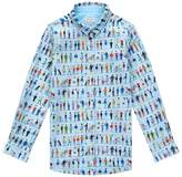 Paul Smith Renzo People Print Shirt