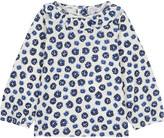 Petit Bateau Frill collar cotton blouse 3-36 months