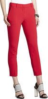 BCBGMAXAZRIA Allen Slim-Leg Cropped Pant