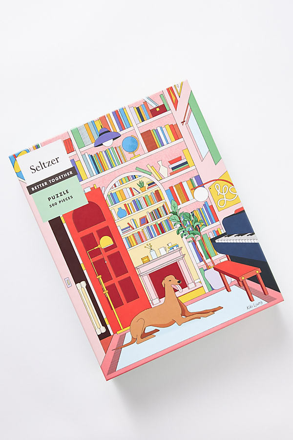 Greyhound Library Puzzle By Anthropologie in Assorted