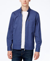 Ben Sherman Men's Full-Zip Shirt Jacket