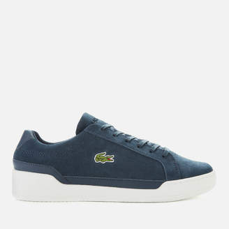 Lacoste Men's Challenge Suede Trainers - Navy/White